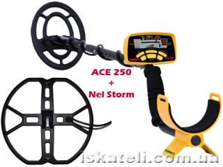 Garrett ACE 250 + Nel Storm