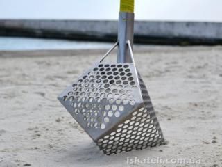 Пятигранный совок для пляжа