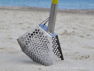 Пятигранный скуп для пляжа